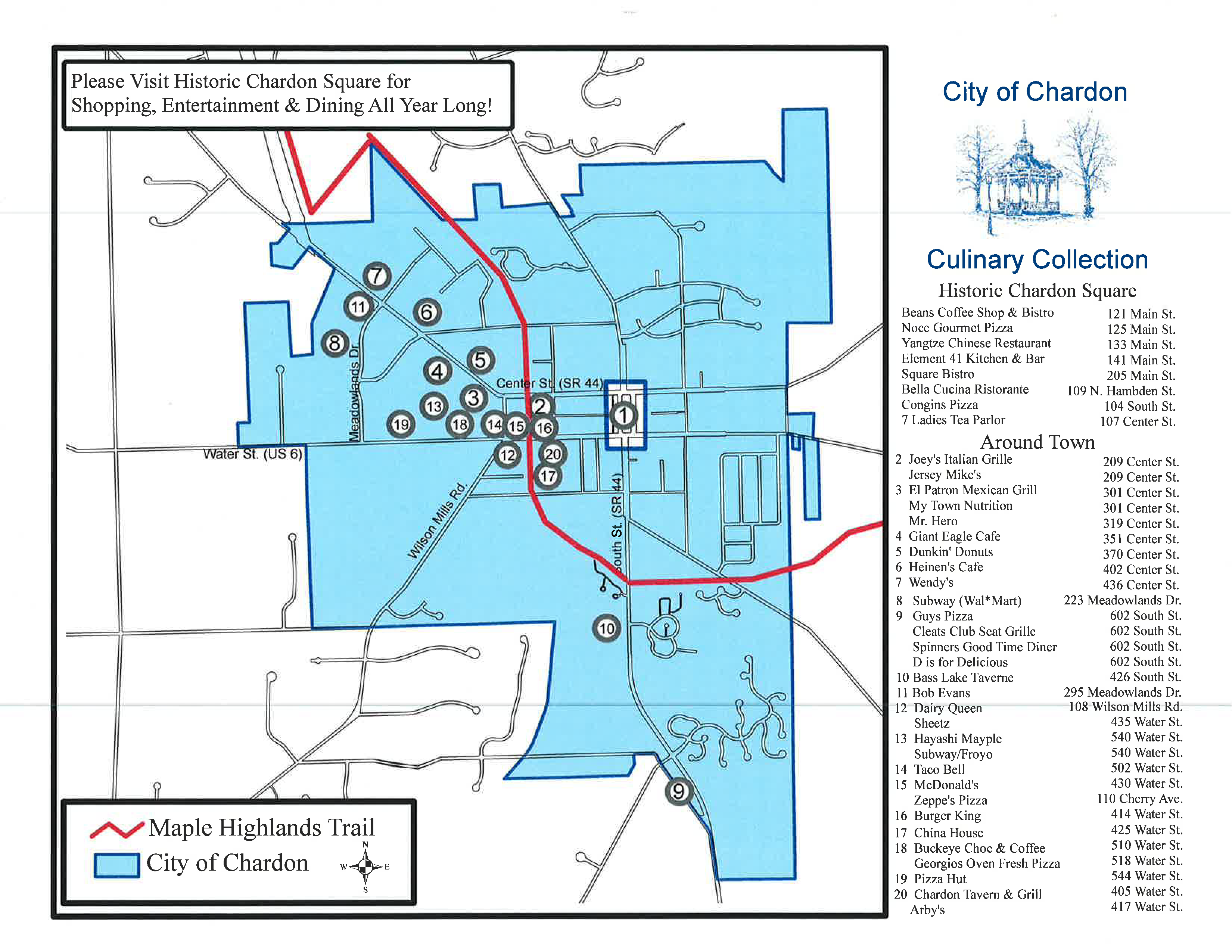 Maps Chardon Oh Official Website